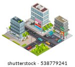 city shopping center in... | Shutterstock . vector #538779241