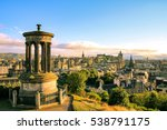 Edinburgh Skyline Seen From...
