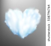 Realistic Cloud Heart On...