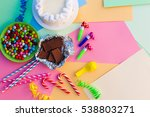 cake  candy  chocolate ... | Shutterstock . vector #538803271