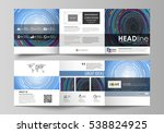 set of business templates for... | Shutterstock .eps vector #538824925