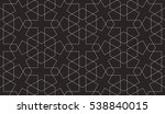 seamless linear pattern with... | Shutterstock .eps vector #538840015