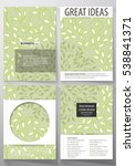 business templates  brochure ... | Shutterstock .eps vector #538841371