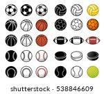 vector sports illustration of... | Shutterstock .eps vector #538846609