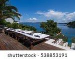 komiza  vis   croatia   aug 15  ... | Shutterstock . vector #538853191