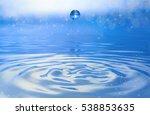 drop water | Shutterstock . vector #538853635
