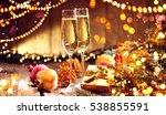 Holiday Celebrating Champagne....