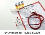 doctor tools and patient...   Shutterstock . vector #538856305