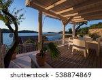 komiza  vis   croatia   aug 15  ... | Shutterstock . vector #538874869