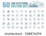 vector graphic set of icons in...   Shutterstock .eps vector #538876294