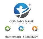 health logo template | Shutterstock .eps vector #538878379