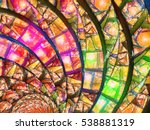 Colorful Stained Glass In...