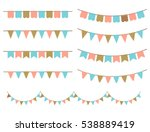 retro illustration of colorful... | Shutterstock . vector #538889419