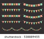 illustration of colorful... | Shutterstock . vector #538889455