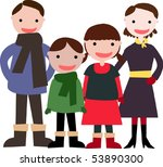 family | Shutterstock .eps vector #53890300