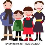 family | Shutterstock .eps vector #53890300