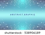 geometric graphic background... | Shutterstock .eps vector #538906189