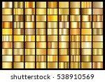 gold gradient background vector ... | Shutterstock .eps vector #538910569