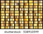 gold gradient background vector ... | Shutterstock .eps vector #538910599