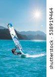 windsurfing | Shutterstock . vector #538919464