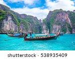 krabi   december 1  long boat... | Shutterstock . vector #538935409