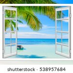 Open Window View Of The Sea...