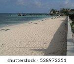 beach at grand turk island | Shutterstock . vector #538973251