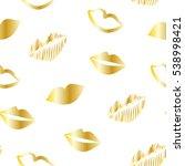 seamless pattern with golden...   Shutterstock .eps vector #538998421