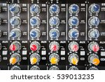 sound music mixer control ... | Shutterstock . vector #539013235