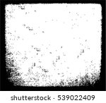 grunge black and white urban... | Shutterstock .eps vector #539022409
