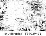 grunge black and white urban... | Shutterstock .eps vector #539039431