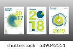 annual report 2017 2018 2019... | Shutterstock .eps vector #539042551