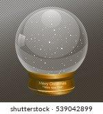snow globe vector illustration  ...   Shutterstock .eps vector #539042899