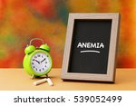Small photo of Anemia, Health Concept