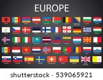 illustrated flags from the...   Shutterstock . vector #539065921