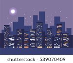 night city background.... | Shutterstock .eps vector #539070409