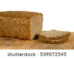 fresh homemade tin bread with 2 ... | Shutterstock . vector #539072545