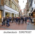 amsterdam  holland  december... | Shutterstock . vector #539079337