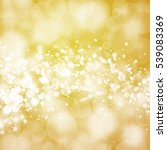 gold sparkle rays lights with... | Shutterstock . vector #539083369