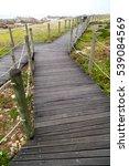 in south  africa beach walkway  ... | Shutterstock . vector #539084569