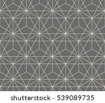 abstract geometric pattern by... | Shutterstock .eps vector #539089735