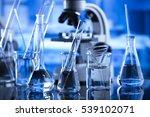 laboratory concept | Shutterstock . vector #539102071