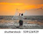 Fisherman Throws His Net....