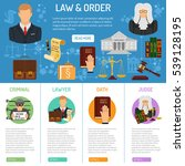 law and order infographics with ... | Shutterstock .eps vector #539128195