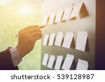 planning  risk and strategy of... | Shutterstock . vector #539128987