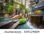 fountains at thomas polk park ... | Shutterstock . vector #539129809