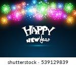 happy new year. seasons...   Shutterstock .eps vector #539129839