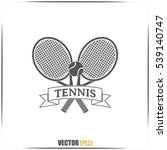 tennis icon | Shutterstock .eps vector #539140747