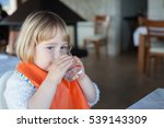 portrait of two years old... | Shutterstock . vector #539143309