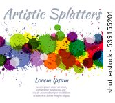 Colorful Watercolor Paint...